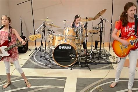 Watch Three Young Sisters Cover Metallica and AC/DC