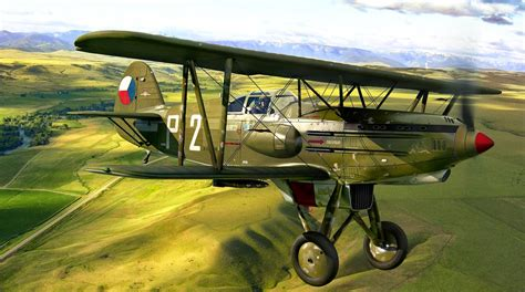 Airplanes in the skies + FAF history: Avia B-534