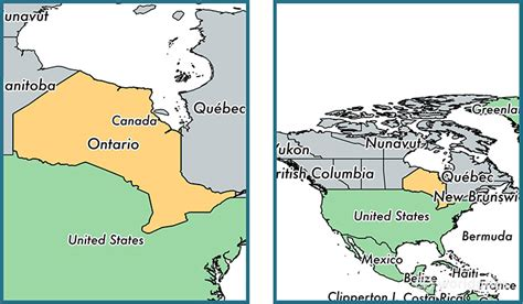 Where is Ontario province? / Where is Ontario Located in