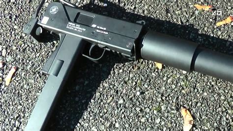 ASG MAC10 AEP Airsoft Action - YouTube