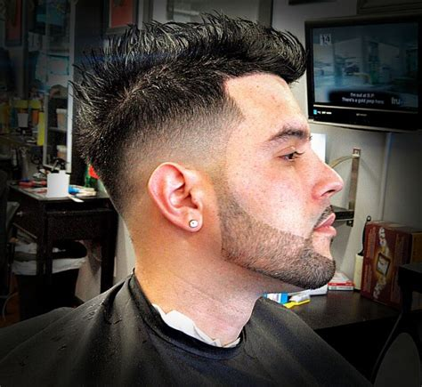 Clean Fade and beard line-up done by @signaturebarber