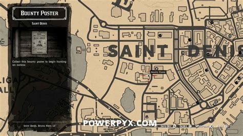 Red Dead Redemption 2 Bounty Locations