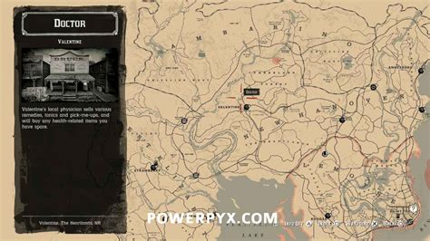 Red Dead Redemption 2 Doctor Locations