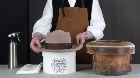 Hat Customisation: How to re-shape a Lock & Co