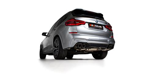 Product Information 2020 BMW X3M/Competition - REMUS   NV