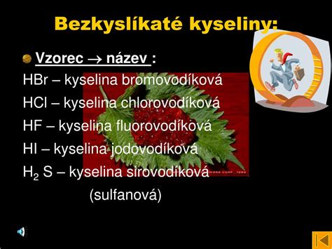 PPT - Kyseliny PowerPoint Presentation, free download - ID
