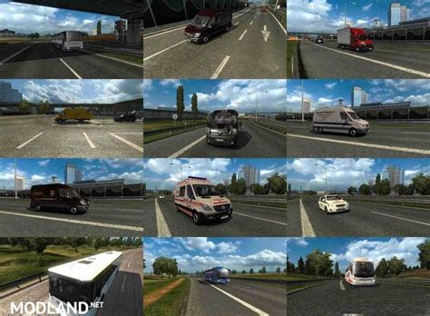 Czech and Slovak AI Traffic Pack (FIX) mod for ETS 2