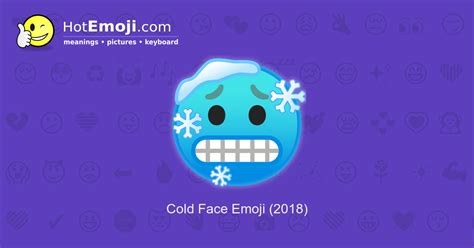 Cold Face Emoji Meaning with Pictures: from A to Z