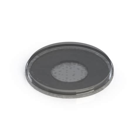 Ideal Vacuum | Acrylic View Port Blank for ISO-200 Flange