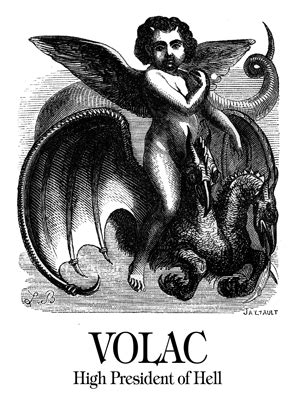 Volac - Demon of Goetia - Child with Angel Wings