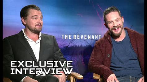Leonardo DiCaprio and Tom Hardy Exclusive Interview - THE