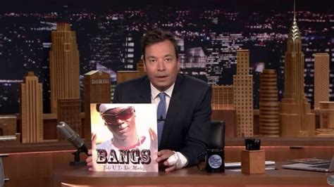 Bangs fires back at Jimmy Fallon with polite rap diss track