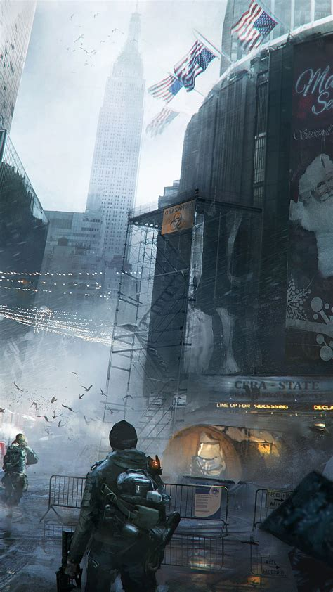 Wallpaper The Division, Tom Clancy's, game, apocalypse