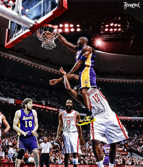 SICK Graphic of The Day! Kobe Bryant Dunking On Dwight