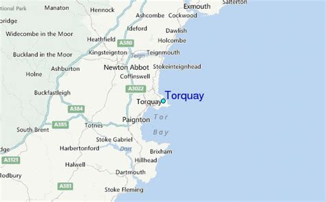 Torquay Tide Station Location Guide