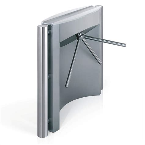 In reliable stainless steel – our Sirio turnstile | Wanzl
