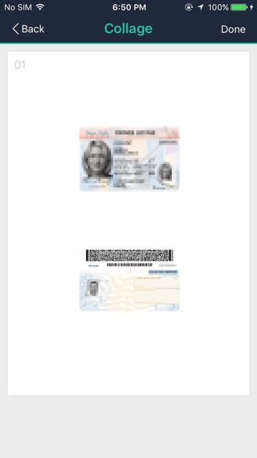 Make a copy of your ID card with CamScanner Easily!