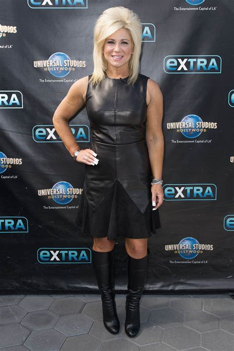 Theresa Caputo visits Hollywood Today Live - Leather
