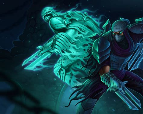 Zed The Master Of Shadows Assassin Fighter League Of