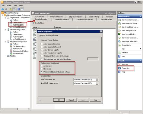 Configure Outlook to not use Winmail