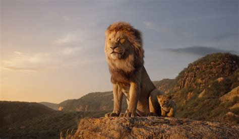 'The Lion King': See Simba Face Menacing Uncle Scar in New