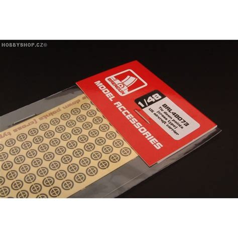 Tie down points (star type) US aircraft carrier - 1/48 PE
